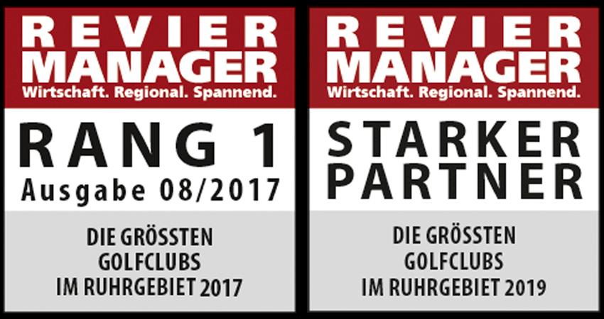 Attraktivster Golfclub im Ruhrgebiet. Im Vergleichstest von 19 Golfanlagen belegte der GCEH Rang 1 hinsichtlich Größe, Vielfältigkeit und Preis- / Leistungsverhältnis.
