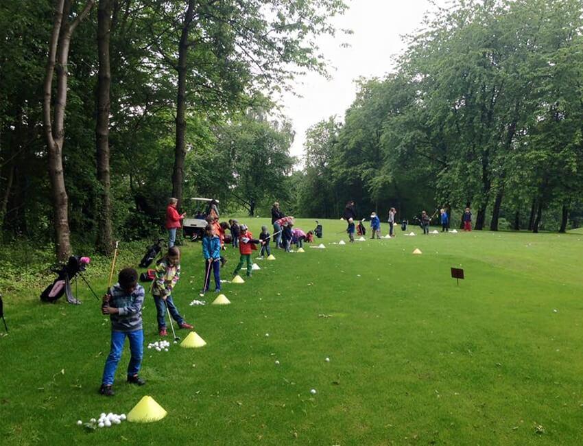 Kinderförderung beim Golfen – in allen Spielstärken.